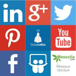 Massolia sur les réseaux sociaux