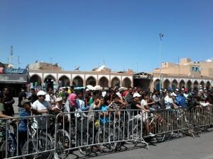 Public nombreux à la 5ème Vélo-parade de Tiznit