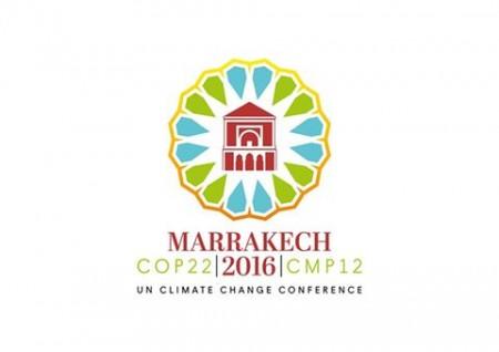 Logo officiel de la COP22